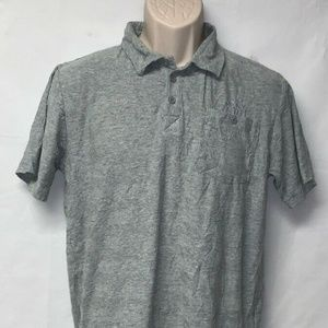 Dkny Gray Polo Size:XL shoulder to shoulder:16 1/2